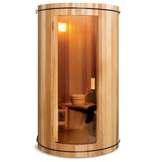 The Two Person Home Sauna - Hammacher Schlemmer