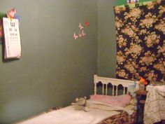 cuarto de mi hija sofia con luz artificial
