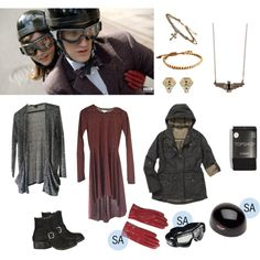 Clara Oswald - The Bells of Saint John (Motorcycle Outfit)