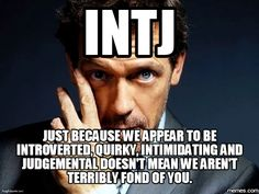 I am INFJ but I think this is true for me as well at times. Intj Personality, Myers Briggs Personality Types, Intj Humor, Intj Women, I Am A Unicorn, Intj And Infj, Myers Briggs Personalities, Entp, Words