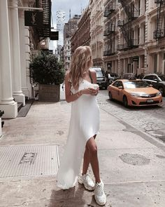 Babe looking so good in our Hattane dress from our honeymoon collection ! Tje perfect little white dress for your party! All White Outfit, White Outfits, Summer Outfits, Little White Dresses, Nice Dresses, Marie Von Behrens, Dress For You, Dress Up, Looks Chic