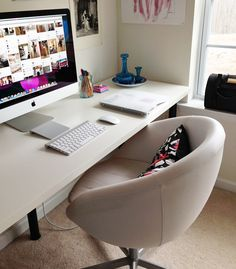 Office chair & organization/decorating tips