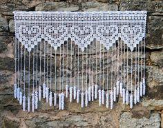 Captivating Crochet a Bodycon Dress Top Ideas. Dazzling Crochet a Bodycon Dress Top Ideas. Filet Crochet, Crochet Patterns Filet, Crochet Lace Edging, Crochet Chart, Crochet Doilies, Crochet Curtain Pattern, Crochet Curtains, Curtain Patterns, Curtain Ideas