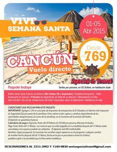 Cancún un destino bello