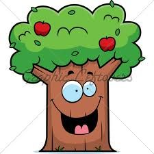 cartoon trees with faces - Google Search
