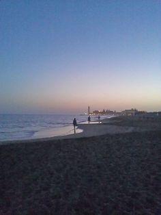 Maspalomas Beach, Gran Canaria Sunset with lighthouse