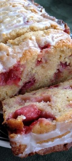 Strawberry Lemon Yogurt Cake — {Sweetly} Serendipity