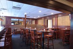 The Bar Area Inside Of Federal Restaurant And In Agawam Machusetts
