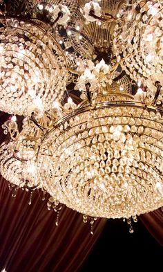 Pretty chandeliers!