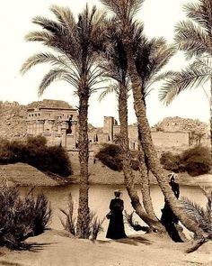 The temple of Philae in by Léon & Lévy Source Egypt Cradle of civilization Old Egypt, Ancient Egypt, Old Pictures, Old Photos, Temple, Death On The Nile, The Artist Movie, Oriental, Cradle Of Civilization