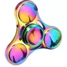 fidget hand spinner finger toy anti stress ansiedade metal