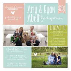 Mini session for adoption donation