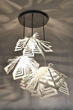 Modern Lamp unusual design ceiling light DENALI.