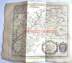 GLOCESTER SHIRE - 100% GENUINE ENGRAVING FROM UNIVERSAL MAG 1750 - BEAUTIFUL