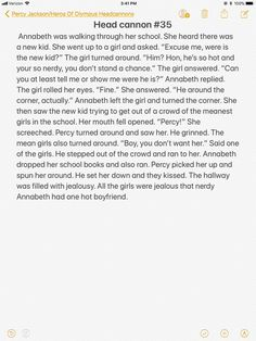 Wait, everyone always thinks Percy is the hottest but what about Annabeth. Just cause she's smart doesnt mean she's not pretty.