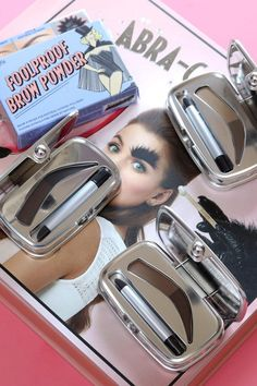 Say Hi to the Benefit Foolproof Brow Powder Kits - Beauty Informative Beauty Makeup, Hair Makeup, Brow Kit, Beauty Sponge, Brow Powder, Love Hair, Say Hi, Beauty Hacks, Beauty Tips