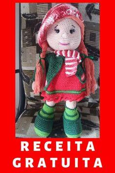 Crochet Doll Pattern, Crochet Dolls, Crochet Baby, Crochet Patterns, Amigurumi Patterns, Amigurumi Doll, Baby Dolls, Free Pattern, Applique