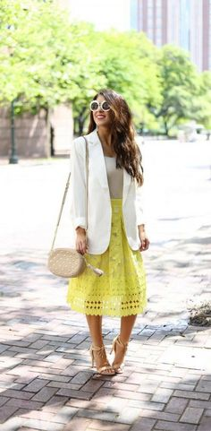 Buttercup Lace Skirt