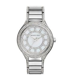 Michael Kors Watches Collection 2018 / 2019 : Michael Kors Ladies Kerry Silver Watch * Be sure to check out this awesom. - Watches Topia - Watches: Best Lists, Trends & the Latest Styles Bijoux Michael Kors, Handbags Michael Kors, Michael Kors Watch, Mk Handbags, Stainless Steel Jewelry, Stainless Steel Watch, Crystal Bracelets, Silver Necklaces, Silver Bangles