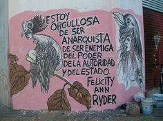 De Armas Tomar: Mural solidario con Felicity Ann Ryder en Buenos Aires, Argentina