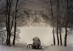 The winter lake... by Elena Shumilova on 500px