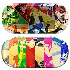 Premium Skin Decals Stickers For PlayStation VITA Slim 2nd Generation PCH2000 Series Consoles Korea Made  POP SKIN Persona 03  Free Gift Screen Protector Film  Wallpaper Screen Image ** You can get additional details at the image link.