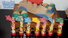 Tubets personalizados com pipas - Festa Brinquedos Antigos