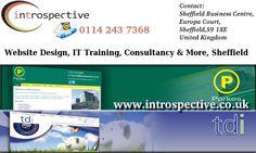 Introspective Website Design Sheffield by Web Designers in Sheffield. IT Training Courses Sheffield. Website Designers Sheffield.