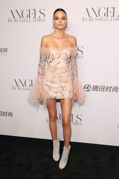 The best looks of the famous at the Victoria´s Secret party - Sofia Resing - Gala Dresses, Red Carpet Dresses, Couture Dresses, Evening Dresses, Short Dresses, Fashion Dresses, Outfits Fiesta, Pretty Outfits, Dress To Impress