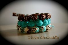 Love these bracelets.  Check it out all proceeds go to help kids in Uganda.  A friend of mine makes these.