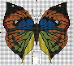 All cross stitch patterns you can imagine Cross Stitching, Cross Stitch Embroidery, Hand Embroidery, Cross Stitch Patterns, Butterfly Cross Stitch, Butterfly Embroidery, Cross Stitch Boards, Cross Stitch Pictures, Cross Stitch Animals