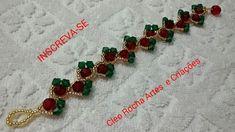 Making Bracelets With Beads, Woven Bracelets, Jewelry Making Beads, Handmade Bracelets, Bracelet Making, Earrings Handmade, Seed Bead Jewelry, Bead Jewellery, Beaded Jewelry