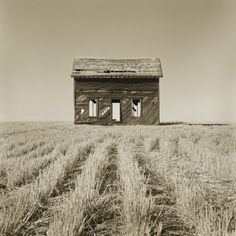 Abandoned Farm House Still Standing Photographic Print by Tom Marks at Art.com