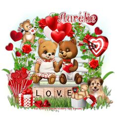 This tut was written Feb 2018 for those with a basic knowledge of psp. Everything for this tutorial is included in this b. Psp, Scrap, Teddy Bear, Tutorials, Love, Christmas Ornaments, Purple, Holiday Decor, Animals