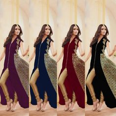 Checkout this stylish georgette suit Fabric Details :- Top :- Georgette With digital printEmbroidery coding work Back Side digital print Sleeves :- georgette Bottom :- Santoon Inner :- Santoon Dupatta :- Nazmin Chiffon Length :- Max up to 52 Size :- Max up to 44 Flair :- 3.00mtr Style :- Long Anarkali type Gown Type :- Semi Stitched ( Material ) Weight :- 1.kg Colour :- 4 Wash :- First time Dry clean Limited Stock Available 4 colour BlackbluePurplemaroon  Price : 1900 INR Only ! #Booknow…