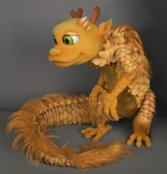 I love this foam puppet from PuppetHeap