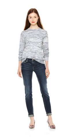 Space Dye Sweater - joefresh.com- $29