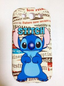 lovely Lilo & Stitch Disney Silicone Case Cover For Samsung Galaxy S3