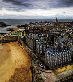 Saint-Malo, France. Want to live there so badly, it's so much more magical in person.