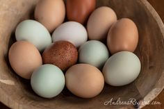 Heritage eggs from Locksley Estate (my chicken wish list)
