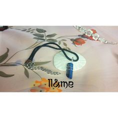 Titanium crystal agate choker wire wrapped grunge by LouLeeAndMe