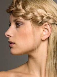 Hair braid, sexy.
