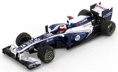Williams FW33 - Rubens Barrichello (2011) by F1 paperboy
