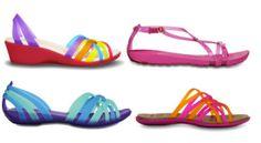 Crocs jelly sandals, $29,99-$54.99.