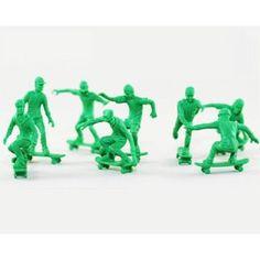 Toy Skate Boarders 24pc Skate Figures Skateboarder Toys
