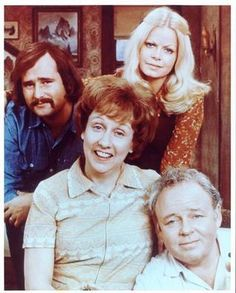 """All In The Family"" (1971-79) was the first TV show to charge head-on into divisive social issues ... mom wanted me out of the room when this was on."