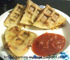 I waffled Tacos! :P