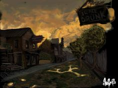 """""""The Last Of Us"""" Concept Art Test"""