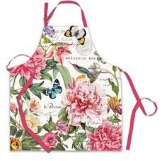 Peony Chef Apron $22.00 http://www.fancyflours.com/product/Peony-Chef-Apron/mothers-day-party-theme