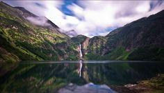 #France : Le lac d'Oô  Dans les #Pyrenees, à proximité de Luchon.